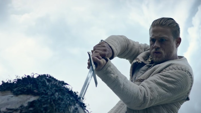 King arthur from the film